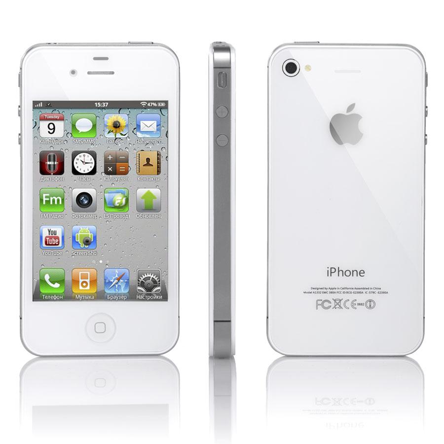 картинки айфон белый 4