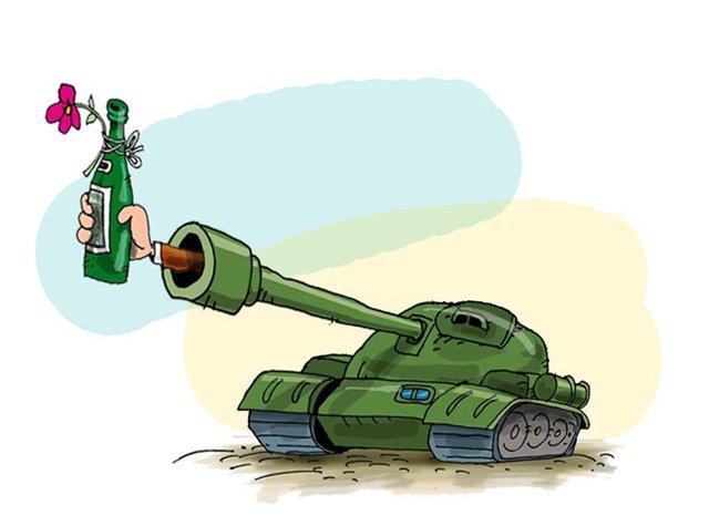 Поздравления с днем рождения танкистам