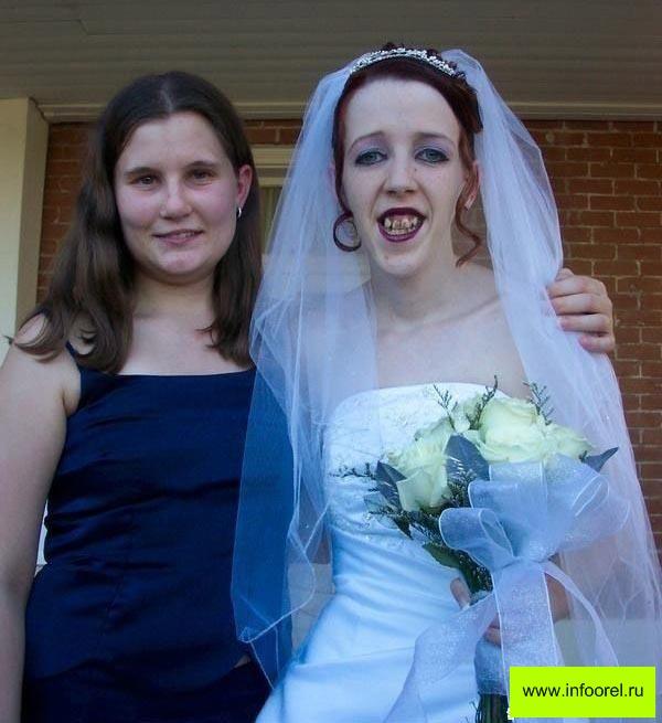 Самая страшная невеста мира фото