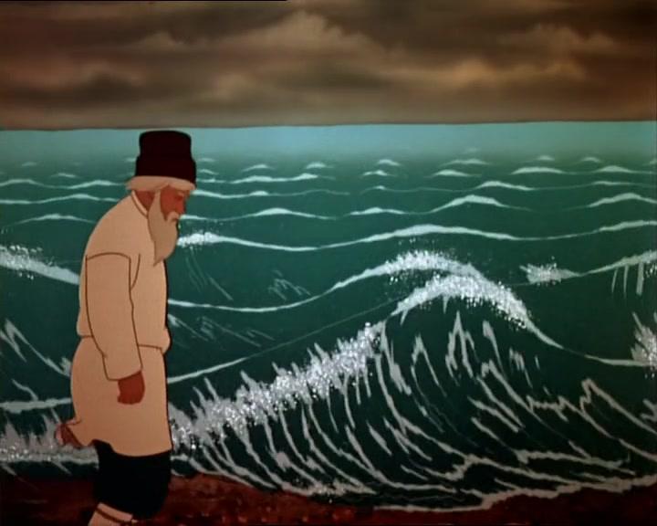 картин море сказка о рыбаке и рыбке