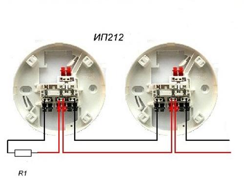 Схема подключения ип 212 189