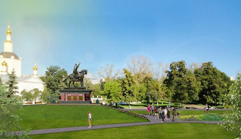 Под монумент Ивану Грозному готовят новейшую площадку