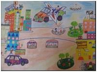2(32) - Нарисовать как будет выглядеть город в будущем
