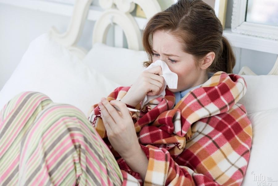 Заболеваемость гриппом иОРВИ врегионе подросла на10,4%